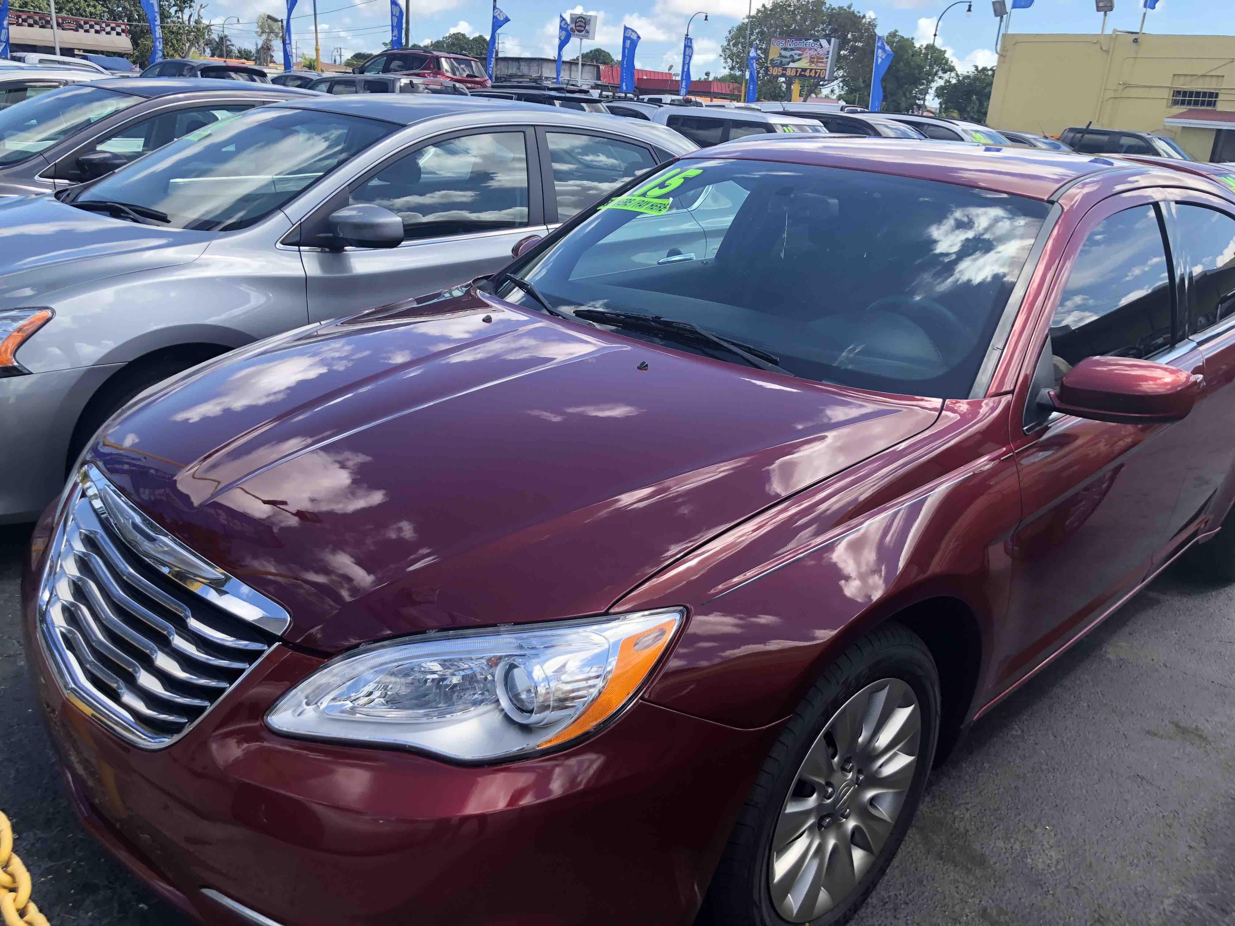 Chrysler 200 los monteros auto sales for Barbara motors inc hialeah fl